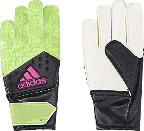 adidas Kinder Torwarthandschuhe Ace, Solar Green/Core Black/Shock Pink S16, 5, AH7813
