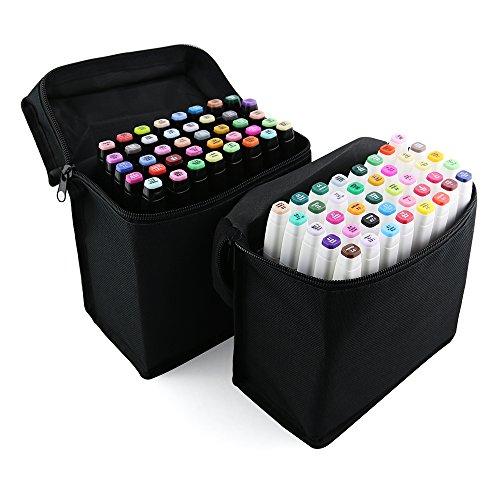 xcsource-40stk-farbe-marker-pen-set-alkohol-zwilling-spitze-breit-feinpunkt-fr-kunst-zeichnung-grafi