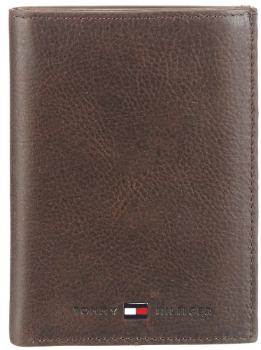 Tommy Hilfiger JOHNSON N/S WALLET W/COIN POCKET BM56921056, Herren Geldbörsen, Braun (DARK BROWN 201), 10x14x2 cm (B x H x T) (Coin Pocket Wallet)
