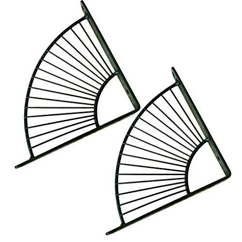 MMZZ Soporte de Estante, Soporte de ángulo Recto en Forma de L,...