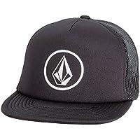 Volcom Full Frontal Chees ha Trucker cappellino da Baseball Snapback Nero Berretto, Nero, taglia unica
