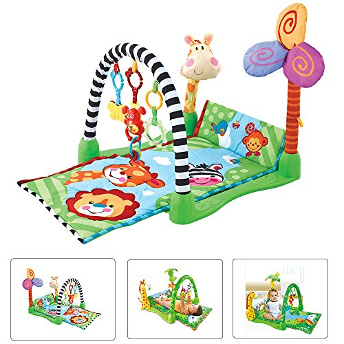 Star Ibaby Playmat jungle - Alfombra gimnasio de actividades