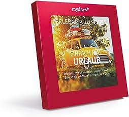 mydays Hotel-Gutschein Einfach Mal Urlaub   4 Übernachtungen für 2 Personen   über 150 Hotels   Geschenkidee für Paare   Inklusive Geschenkbox