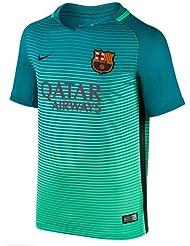 Nike Fcb et nK Dry stad jSY 3–T-shirt ligne FC Barcelona pour enfant, couleur vert