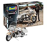 Revell 0793714modèle Kit US Touring Bike l'échelle 1: 8, niveau 5