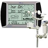 PCE-FWS 20 Funkwetterstation, mit Windgeschwindigkeit und -richtung, Niederschlag, Feuchtigkeit, USB, Software, Touchscreen