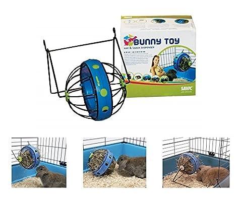 Savic Bunny Toy–Jouet distributeur de nourriture pour lapins et autres rongeurs