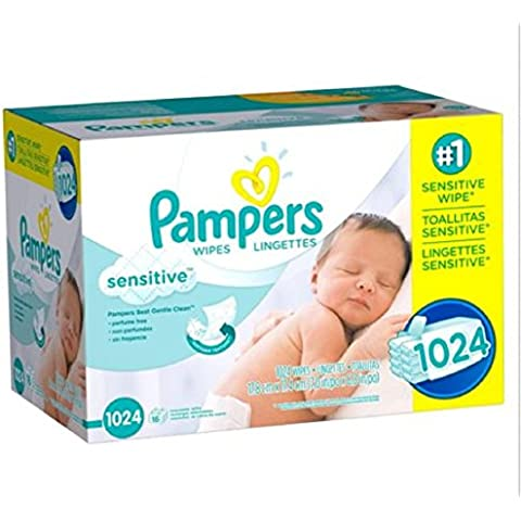 Pampers, Natural Clean Baby Wipes, Clinically Proven Mild, (864 Count) New!!! by Gravitymystore