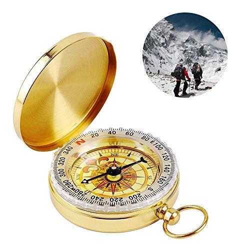ass, Portable Wasserdicht Taschenuhr Kompass Navigation Tools mit Leuchtziffern für Camping, Wandern und andere Outdoor-Aktivitäten ()