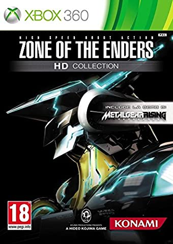 Zone of the enders - collection HD + Metal Gear Rising : Revengeance (demo) [import italien]