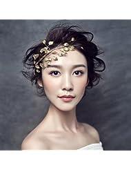 &zhou Collar de pelo nupcial de la joyería del pelo a mano Accesorios del vestido de boda , c