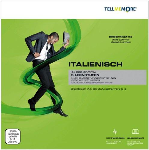 Tell me More Italienisch. 5 Lernstufen. Version 10.5 DVD-ROM für Windows 7/Vista; XP