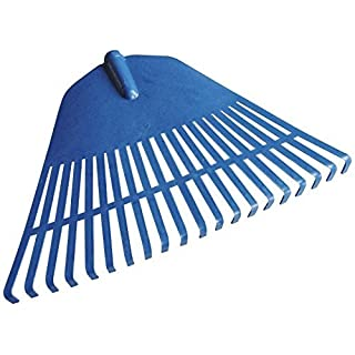 Strong Plastic Flexible Garden Rake Head 45cm Wide Lawn Grass Leaf by Automotive World
