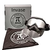 PI Wear Invase Kit verspiegelt/klar☀ Brillen-Maske, Goggle-Mask, Paintball Maske
