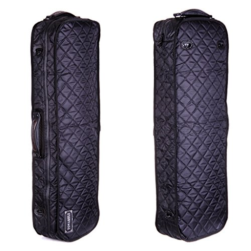 Tonareli viola case cover VACCO1000 for oblong fiberglass - Black