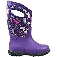 BOGS Girls York Bunny Purple Multi Insulated Warm Wellies Boot 78711 540-8 UK 25 EU