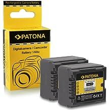 2x Bateria VW-VBG130 | VW-VBG260 para PANASONIC AG-HMC70 | HDC-DX1 | HDC-DX3 | HDC-DX1EG-S | HDC-HS9...