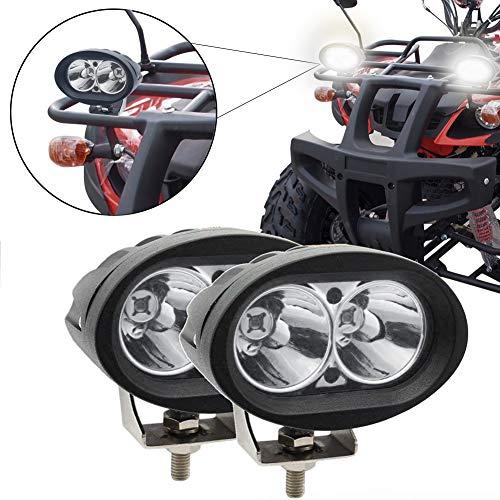 faro auto esterno 20w 12v 24v fari led moto supplementari anteriori luci