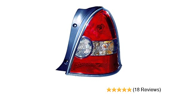 OE Replacement Hyundai Accent Passenger Side Taillight Assembly Partslink Number HY2801142