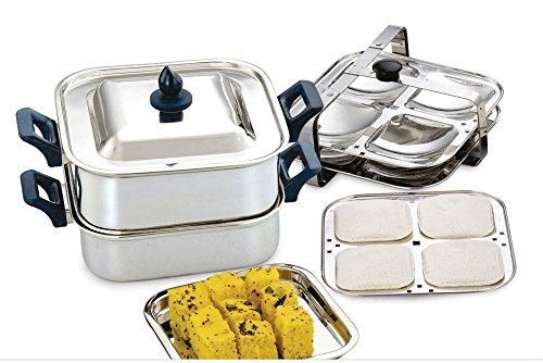 Mayur Exports Stainless Steel Steamer and Idli, Khaman Makers