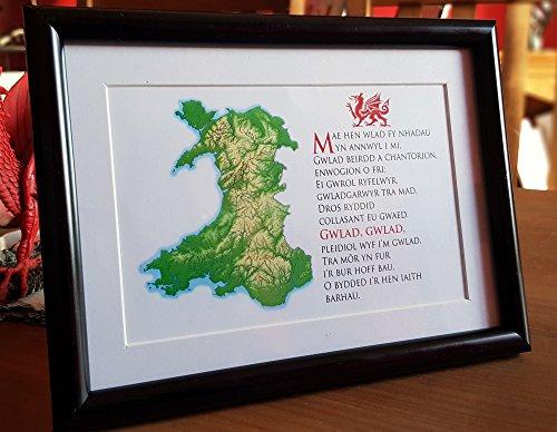 Welsh National Anthem Frame - Buy Online in Oman  | Misc