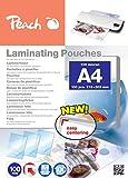 Peach PP500-02 Laminierfolien A4, 100 mic, 100 Stück