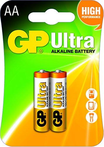 GP 15AU-U2 Ultra Alkaline Batterie AA/LR6 (1.5V, 2er Pack) Blister