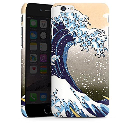 Apple iPhone X Silikon Hülle Case Schutzhülle Katsushika Hokusai Japan Kunst Premium Case matt