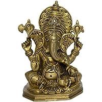 Bharat Haat Signore statua di Ganesh Seduto