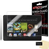 [2 Pack] TECHGEAR® Amazon Kindle Fire HD 7.0 inch (3rd Generation/2013 Edition) CLEAR LCD Screen Protector Covers