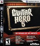 Activision Guitar Hero 5, PS3 PlayStation 3 Inglés vídeo - Juego (PS3, PlayStation 3, Música, T (Teen), Inglés, RedOctane, 11/09/2009)