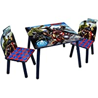 Preisvergleich für Disney Avengers Tisch und Stühle, Holz, Grau