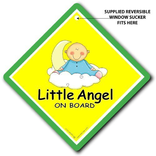 Little Angel on board, Auto, Engel Auto Schild, Angel on board, Baby an Bord, Bumper Aufkleber, Aufkleber, Baby, Baby Auto Schild, Mutterschaft, Schwangerschaft, ich brauche (Engel Mutterschaft)