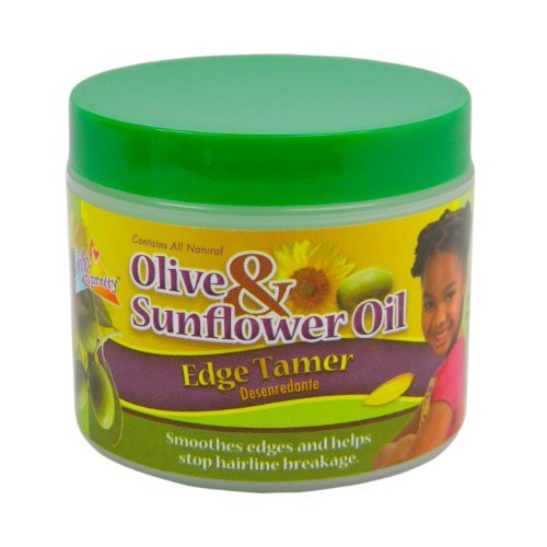Sof N Free Gro Healthy Olive and Sunflower Oil Edge Tamer, 4 Ounce by Sof N Free Gro Healthy