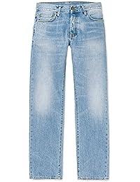 CARHARTT WIP - Jean - Homme - Jeans Straight Fit Oakland Edgewood Bleu Clair Délavé pour homme