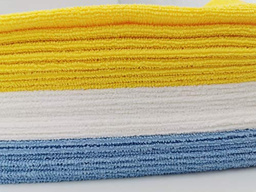 Scendibagno in memory foam in tessuto ciniglia arricciato 50 x 80 cm Basics Blu
