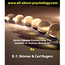 Some Issues Concerning The Control of Human Behavior (English Edition)