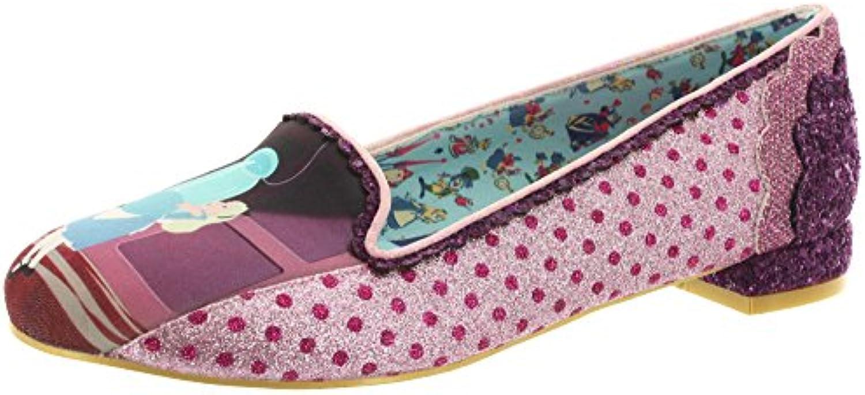 Zapatos Irregular Choice Heres A Riddle (Rosa)