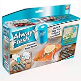 Always Fresh Seal Vacuum System and Bag Set