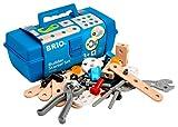 BRIO 34586 - Builder Box 48-teilig, Bau Konstruktionsspielzeug