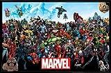 Marvel Comics Poster Stampa e Cornice (Plastica) - Universo (91 x 61cm)