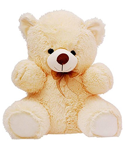 CLICK4DEAL LOVEABLE HUGABLE SOFT 2 FEET LONG HUGE CREAM TEDDY BEAR(best for someone special) 60CM  available at amazon for Rs.478