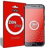 nandu I ZenGlass [2 Stück] Flexible Glas-Folie für HTC 10 Panzerfolie I Display-Schutzfolie 9H I (Kleiner Als Das Gewölbte Display)
