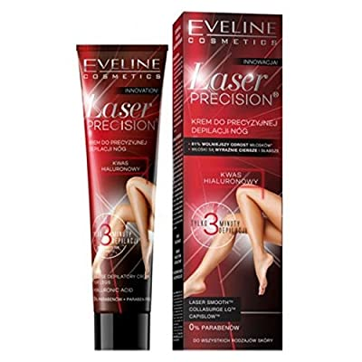 Eveline Laser Precision 3 Minute Hair Removal Cream for Legs 125ml