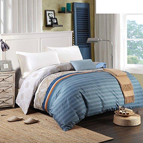 Bettbezug,Student Schlafsaal Baumwolle Twill Tröster abdeckung herbst und winter Tröster abdeckung Bettwäsche (Include:Bettbezug X 1)-B 90.5*98.4inch(230*250cm) - Baumwoll-twill Tröster