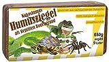 Humusziegel Kokos Einstreu Reptilien Bodengrund, ca. 200 Liter, 24 x 650 g