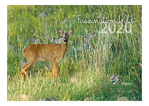 """Wandkalender A3 Jagdkalender""""Faszination Wild 2020"""" Jägergeschenk Jagdgeschenk Wildtierkalender Anblick"""