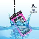 Universal Wasserdichte Hülle, JOTO Handy trocken Tasche für iPhone XS Max/XR/X/8/7/7 Plus/6S Plus, Samsung Galaxy S9 Plus/ S8 Plus/Note 9 8 6 5, Huawei Mi Moto Nokia Pixel, bis zu 6.0