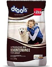 Drools Maintenance Adult Dog Food, 22kg (20kg with 2kg Free Inside)