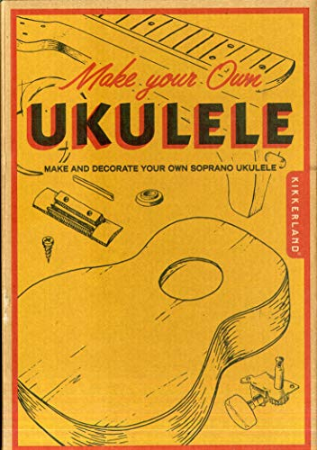 Kikkerland Make Your Own Ukulele